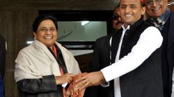 Mayawati, Akhilesh Yadav Announce BSP-SP Alliance In Madhya Pradesh,