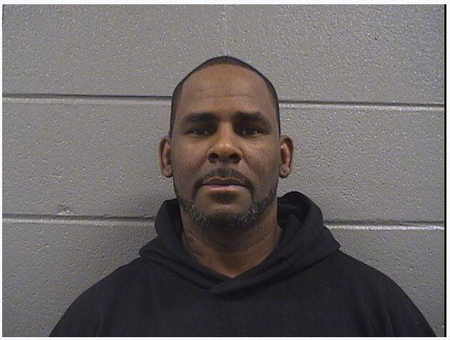 Singer Robert Kelly, known as R. Kelly, is pictured in Chicago, Illinois, U.S., in this handout booking photo obtained by Reuters February 23, 2019.       Cook County Sheriff's Office/Handout via REUTERS ATTENTION EDITORS - THIS IMAGE WAS PROVIDED BY A THIRD PARTY.