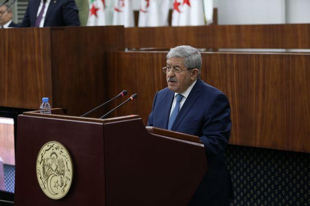 Ahmed Ouyahia lors de la présentation du bilan de la politique générale du gouvernement...