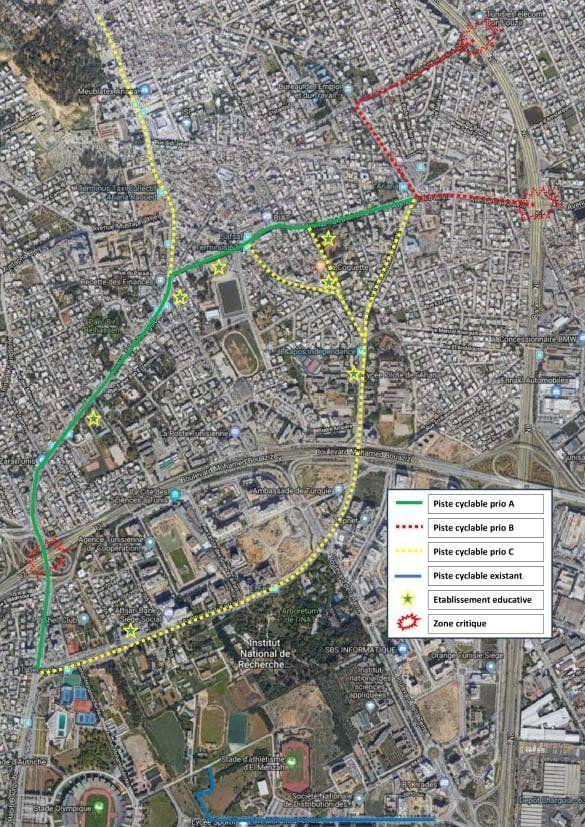 Pistes cyclables: L'ambitieux projet de Vélorution Tunisie et de la municipalité de
