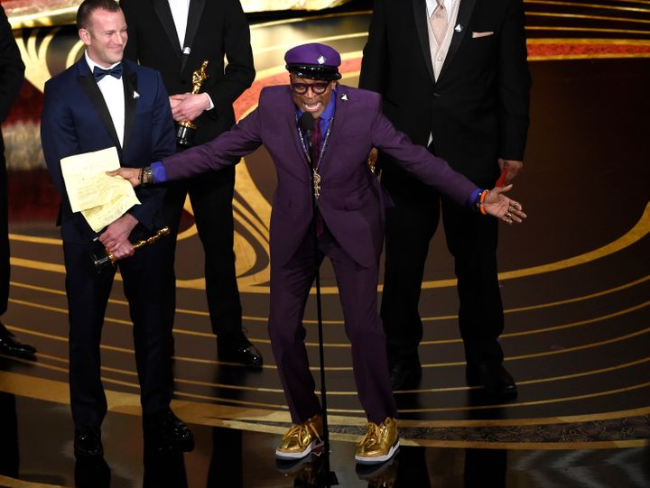 Spike Lee's Oscars acceptance speech provoked an angry Twitter response from President Donald Trump.