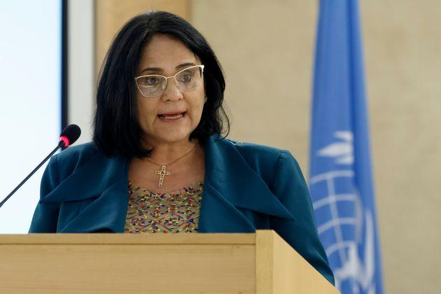 Em primeiro evento internacional, ministra Damares Alves participou da 40ª reunião do Conselho...