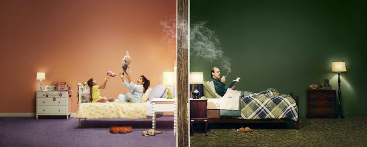 Secondhand smoke can easily make its way through an apartment complex and endanger its residents.