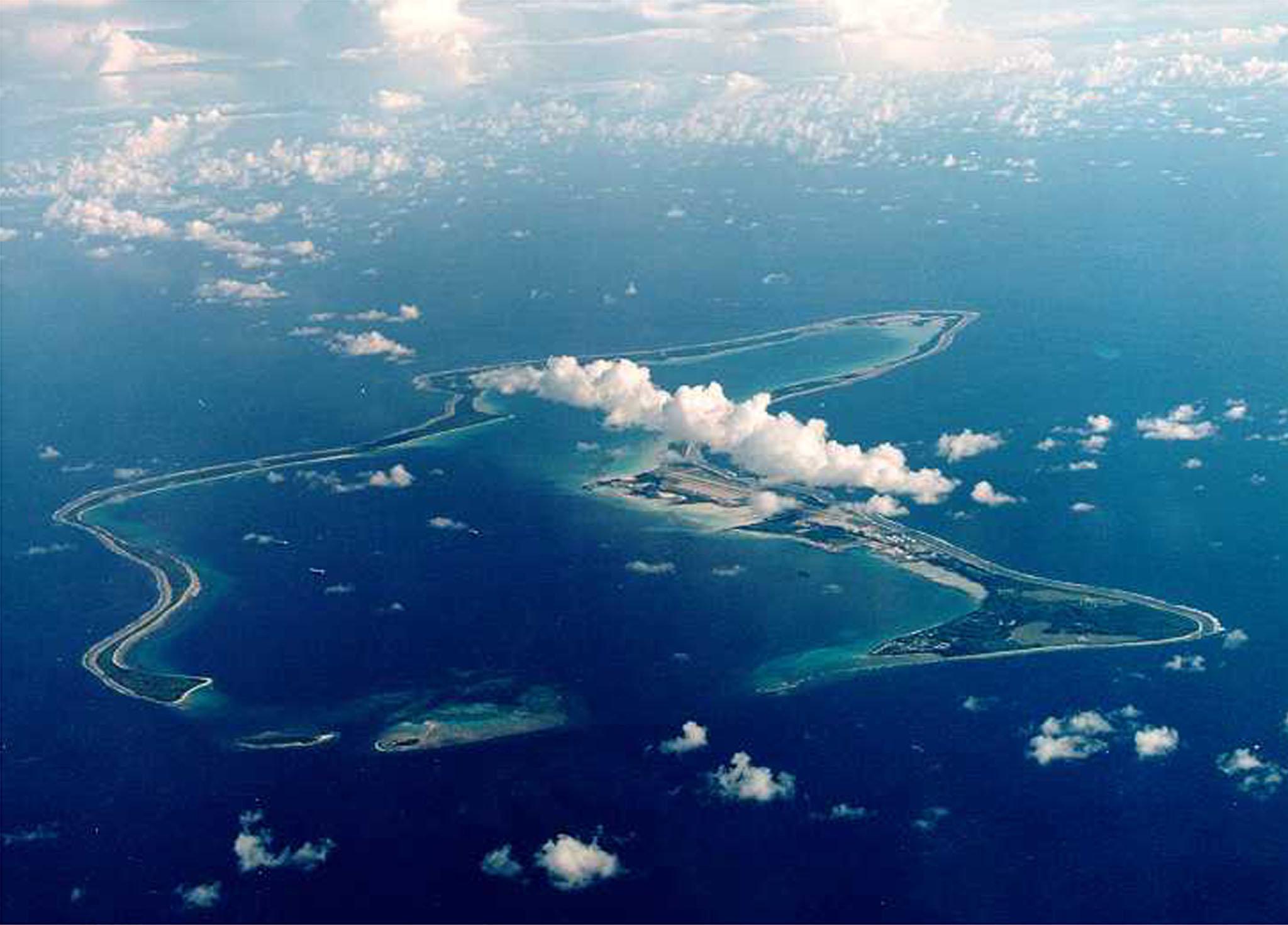 To νησί Ντιέγκο Γκαρσία,...