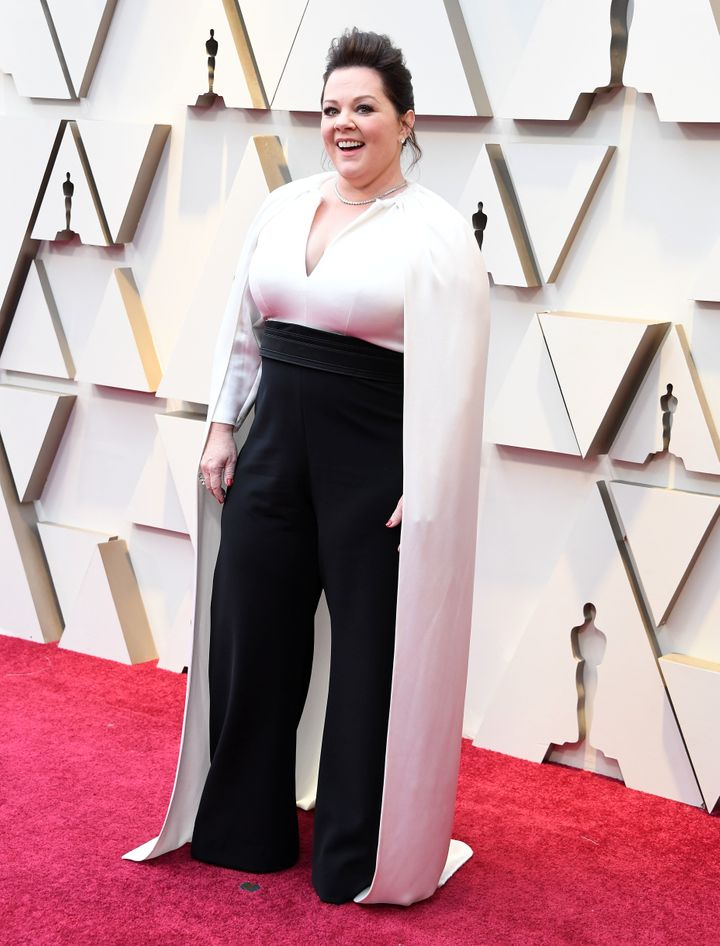 Melissa McCarthy arrives at the 91st Annual Academy Awards on on Feb. 24 in Hollywood.