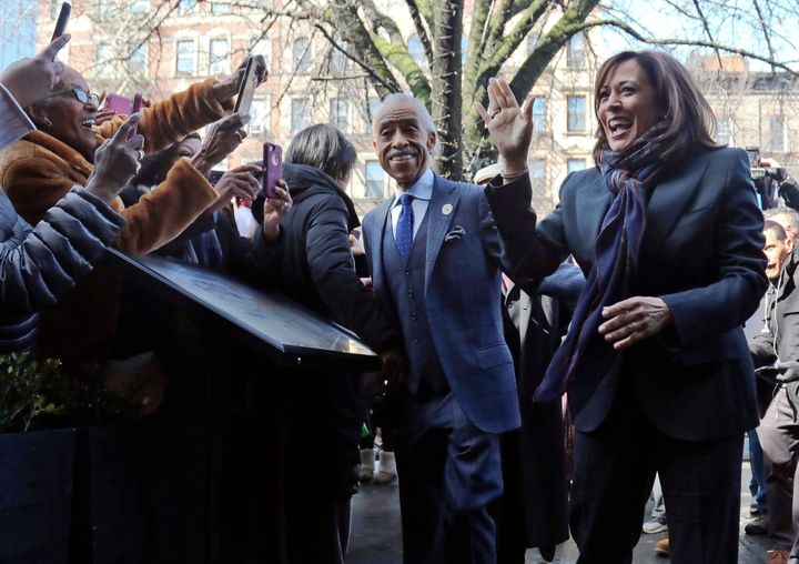 Sen. Kamala Harris (D-Calif.) and Rev. Al Sharpton met last week in New York to discuss her presidential run.