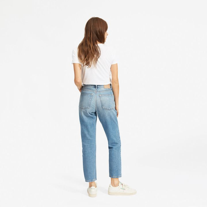 Everlane s New  90s Cheeky Jean Is A Vintage Denim Dream