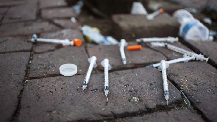 Sharing needles to inject heroin is one way hepatitis C is transmitted. Louisiana and Washington hope to eradicate the diseas