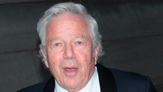 ***FILE PHOTO*** Robert Kraft Charged With Two Counts OF Soliciting Prostitution In Florida NEW YORK, NY - MAY 12: Robert Kraft arrives at the Breast Cancer Research's The Hot Pink Party on May 12, 2017 in New York City. Credit: Diego Corredor/MediaPunch /IPX