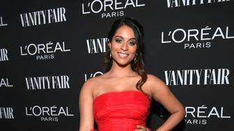 WEST HOLLYWOOD, CA - FEBRUARY 19:  Lilly Singh is seen as Vanity Fair and L'Oréal Paris Celebrate New Hollywood on February 19, 2019 in Los Angeles, California.  (Photo by Emma McIntyre/Getty Images for Vanity Fair)