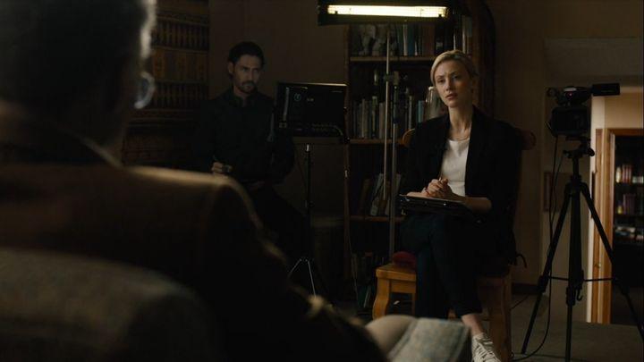 "Sarah Gadon in ""True Detective."""