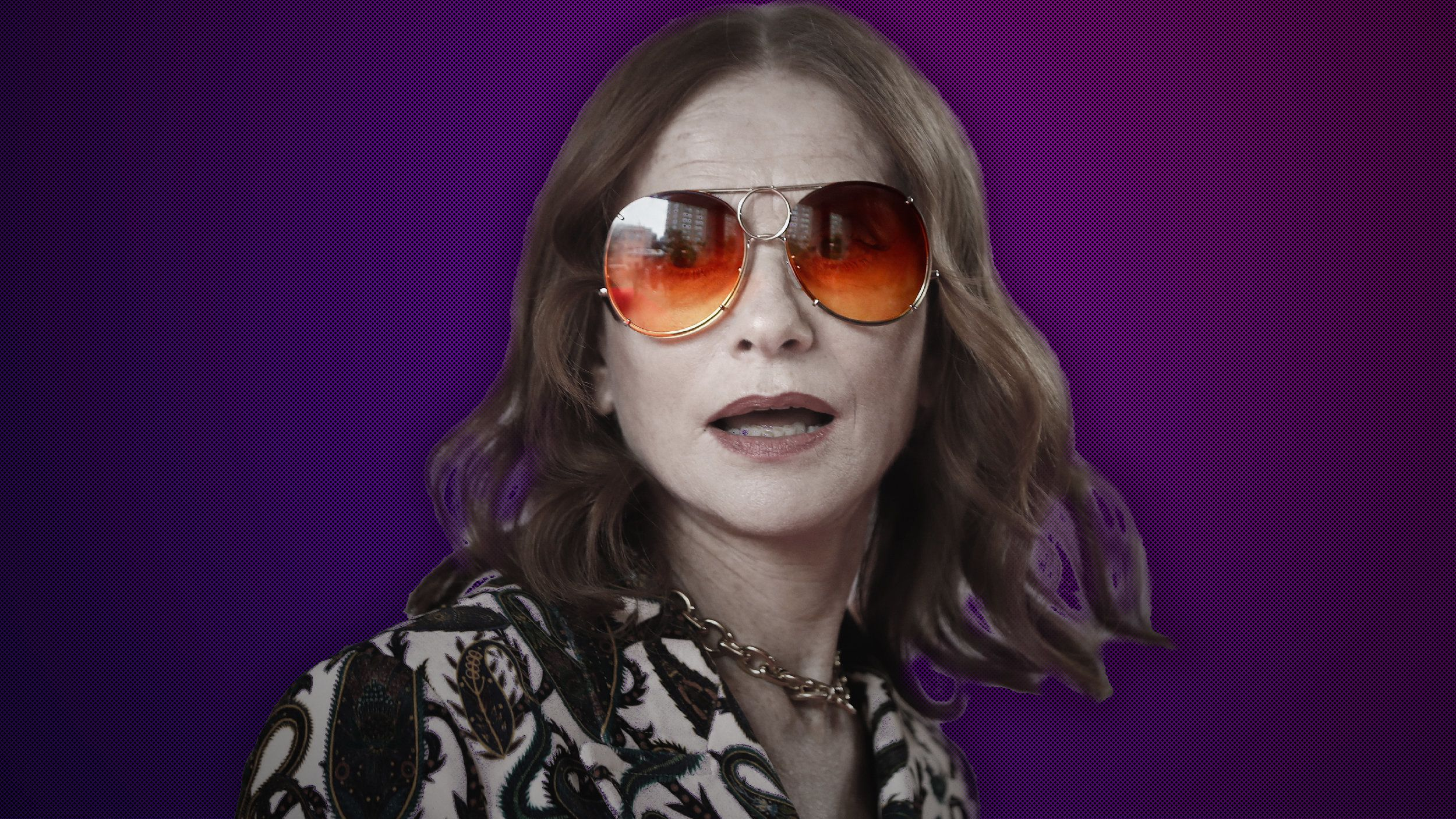 For Isabelle Huppert, Playing A 'Psychopath' Is A Laugh