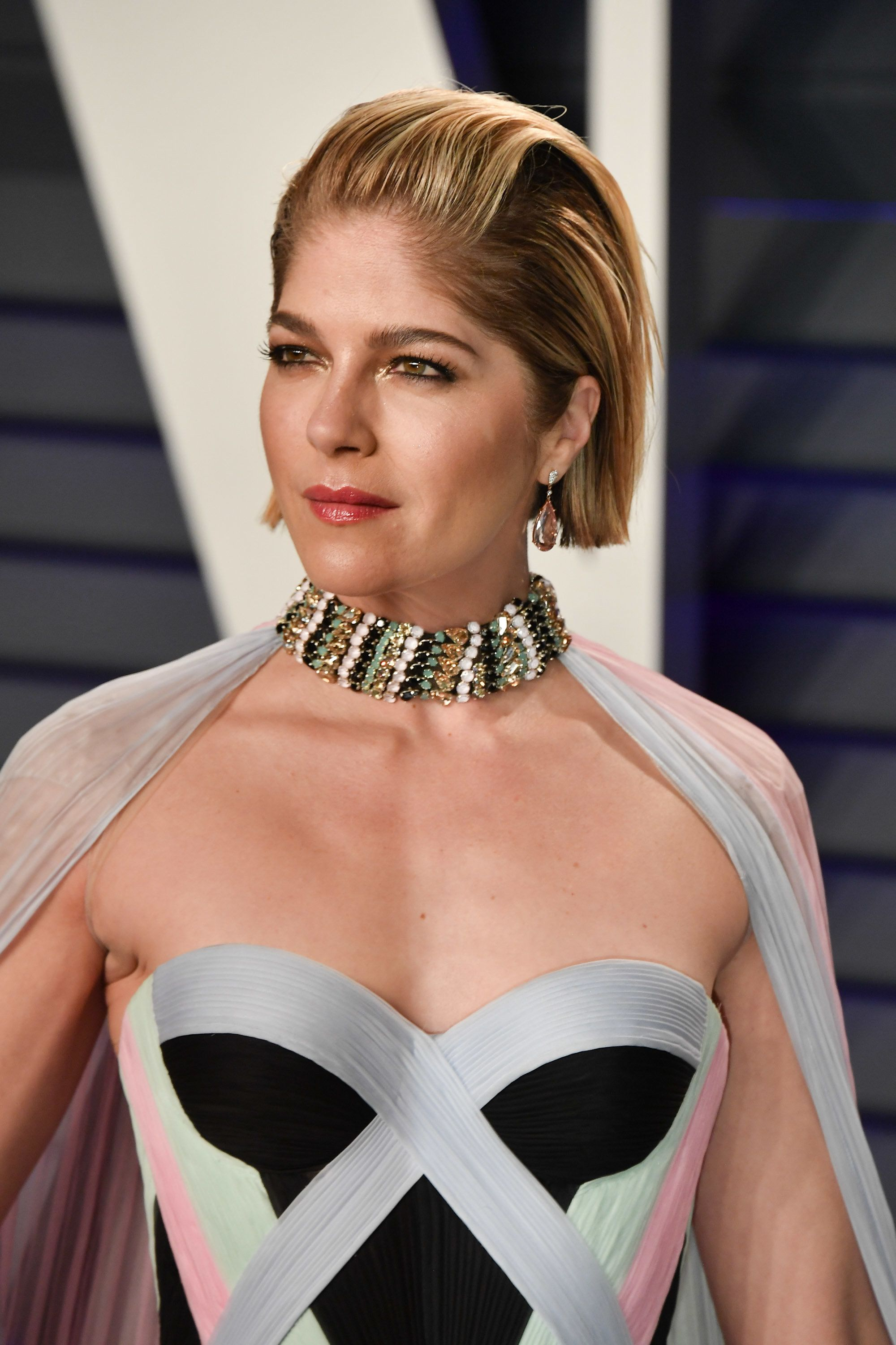 BEVERLY HILLS, CALIFORNIA - FEBRUARY 24: Selma Blair attends the 2019 Vanity Fair Oscar Party hosted by Radhika Jones at Wallis Annenberg Center for the Performing Arts on February 24, 2019 in Beverly Hills, California. (Photo by George Pimentel/Getty Images)