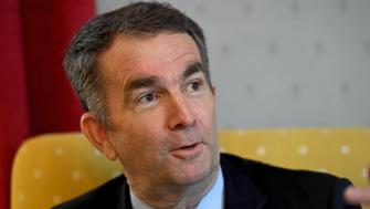 RICHMOND, VA - FEBRUARY 9: Virginia Gov. Ralph Northam talks about how he was raised during an interview in the Governor's Mansion February 09, 2019 in Richmond, VA. He and  Attorney General Mark R. Herring have admitted to using blackface in the past. And, Lt. Gov. Justin Fairfax denies sexually assaulting two women.  (Photo by Katherine Frey/The Washington Post via Getty Images)