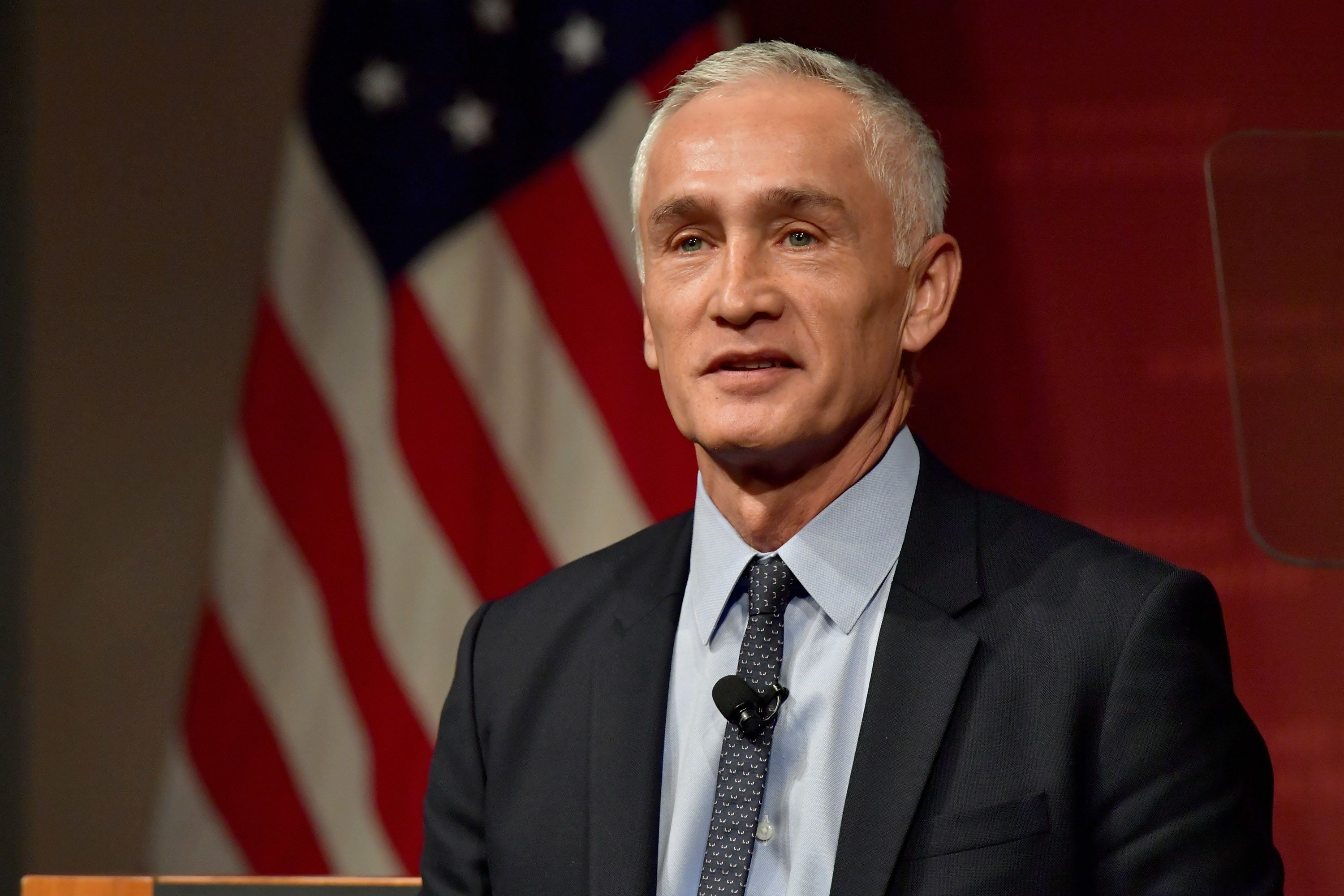 CAMBRIDGE, MA - MARCH 02:  Noticiero Univision Anchor Jorge Ramos receives the Goldsmith Career Award for Excellence in Journalism from the Harvard University Shorenstein Center on March 2, 2017 in Cambridge, Massachusetts.  (Photo by Paul Marotta/Getty Images)