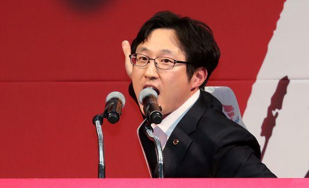 김준교 자유한국당 청년최고위원 후보의 연설
