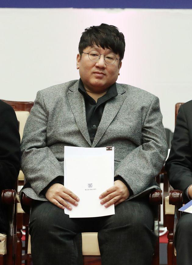 방시혁 대표가 서울대 졸업식 축사에서 밝힌 자신이 원하는