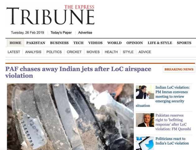 'Chased Away By Pakistan': How Pak Media Reported IAF