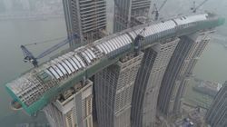 Oλοκληρώνεται ο οριζόντιος ουρανοξύστης της