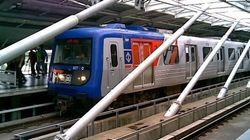 Metrô parou: linha vermelha falha em