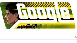 Doodle do Google homenageia Ayrton
