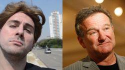 Robin Williams e Fausto Fanti: artistas cômicos, fins