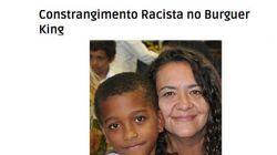 Mãe de menino negro acusa Burguer King de