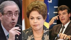 Dilma polariza com Beto Richa e Eduardo Cunha em pronunciamento do 1º de