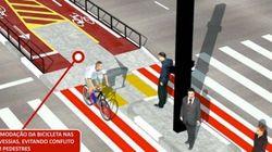 Ciclovia na Paulista vai estreitar faixas de carros e ônibus em 20