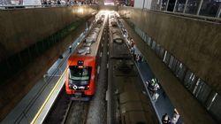 Trem e estação são depredados em SP após temporal paralisar