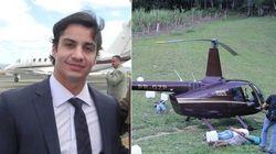 Dono do helicóptero cheio de cocaína toma posse no Ministério do
