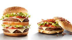 Versão exagerada do Big Tasty tem mais gordura do que sete colheres de
