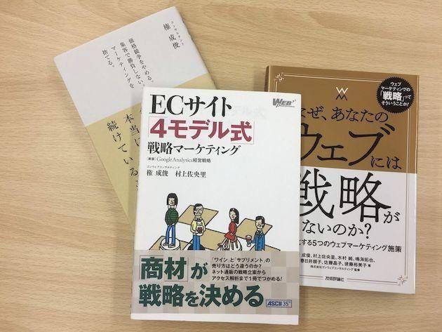 中央と左の書籍は、権さんと村上さんの共著