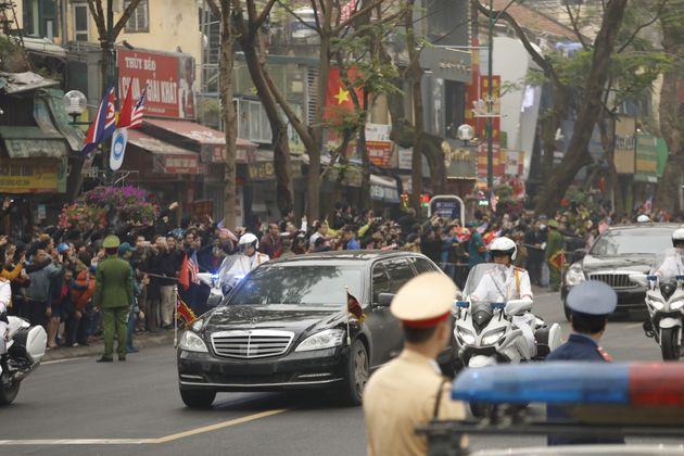 김정은의 베트남 하노이 첫 일정은 북한대사관
