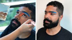 Maquiagem masculina para o Carnaval: Aqui está o passo a passo sem