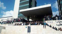 A Alger, les étudiants ont marché en masse contre le 5e