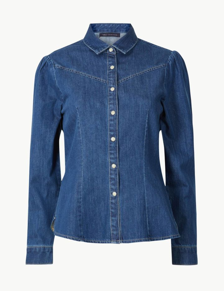 c0a5bba5c5d1 Holly Willoughby's New M&S Collection Is All About Denim | HuffPost Life