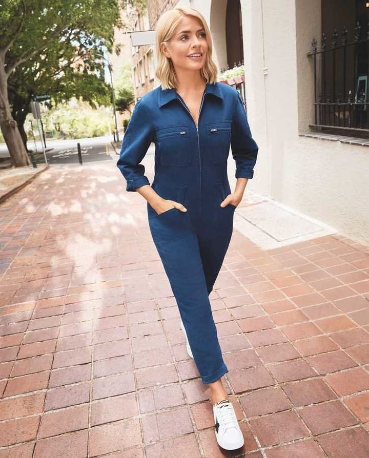 a255e01c6b293 Holly Willoughby's New M&S Collection Is All About Denim | HuffPost Life