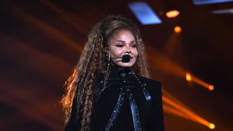 BILBAO, SPAIN - NOVEMBER 04:  Janet Jackson performs on stage during the MTV EMAs 2018 at Bilbao Exhibition Centre on November 4, 2018 in Bilbao, Spain.  (Photo by Kevin Mazur/WireImage)
