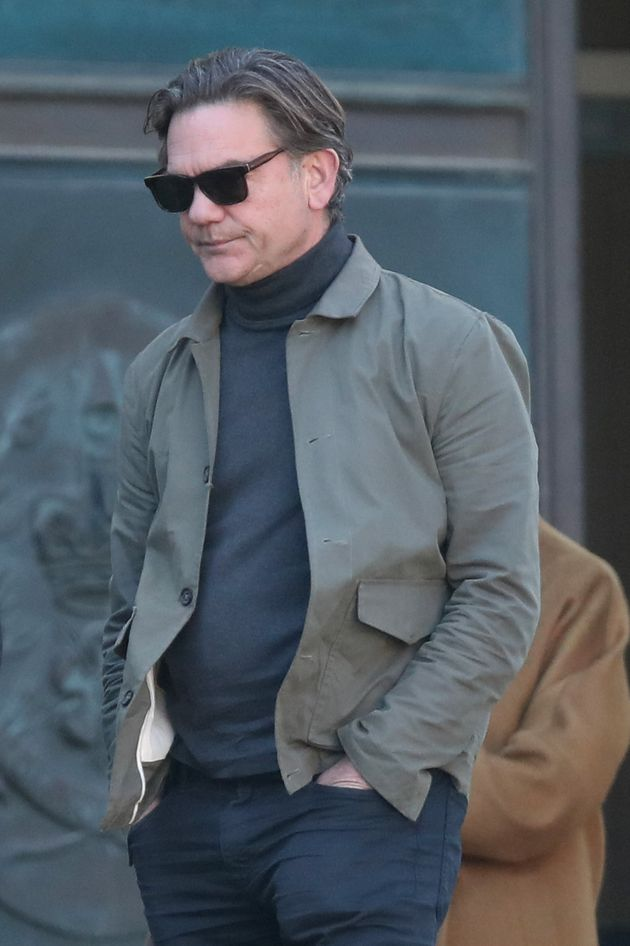 Holby City actor John Michie at Winchester Crown