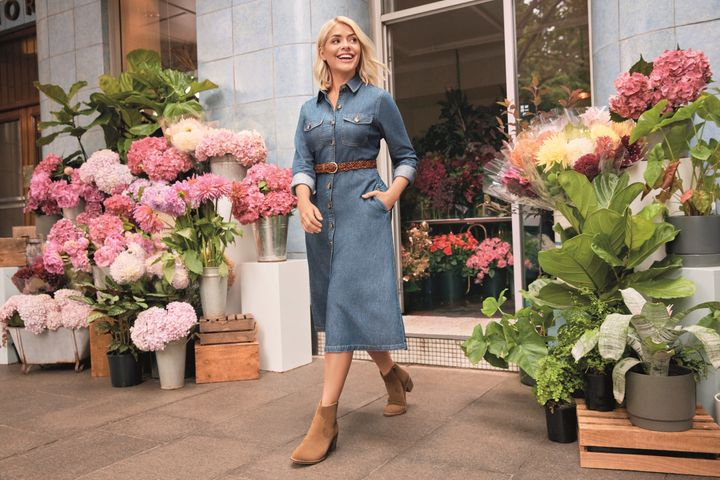 f16d6947f53fe Marks & Spencer. Holly Willoughby's newest Marks and Spencer collection ...