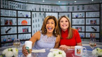 TODAY -- Pictured: Hoda Kotb and Jenna Bush Hager on Wednesday, January 23, 2019 -- (Photo by: Nathan Congleton/NBC/NBCU Photo Bank via Getty Images)