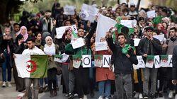Les marches des étudiants contre le 5e mandat en