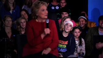 Audience in attendance of a Family Town Hall event with Democratic presidential nominee Hillary Clinton, joined by daughter Chelsea.
