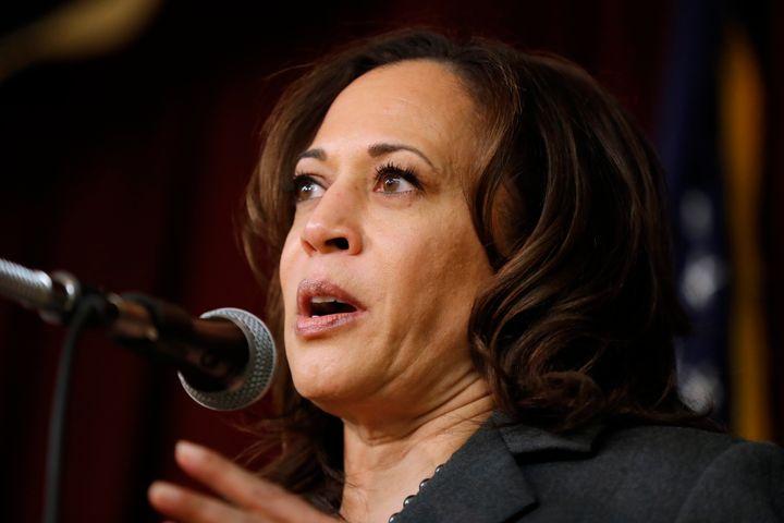 Sen. Kamala Harris (D-Calif.), who is running for president,