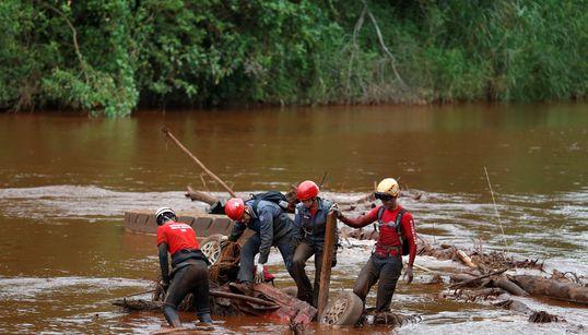 Rio 'cor de sangue': A tragédia de Brumadinho contaminou o Paraopeba com materiais