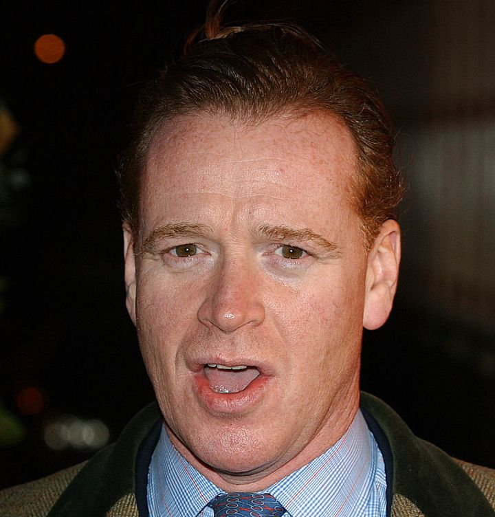 James Hewitt arrives for the 2003 TV Moments Awards, held at the BBC Television Centre in London.