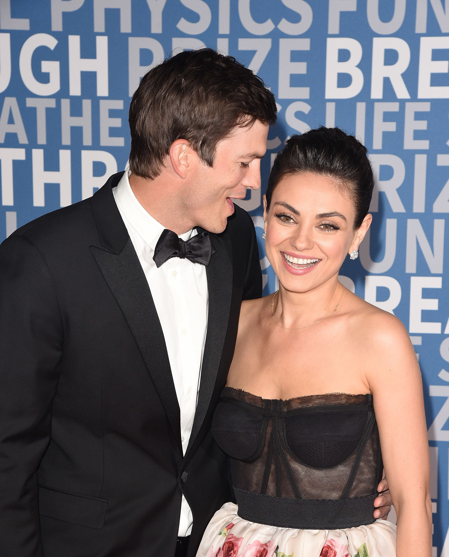 Watch Here: Mila Kunis Explains Ashton Kutcher's Valentine's Day Fail on 'Ellen