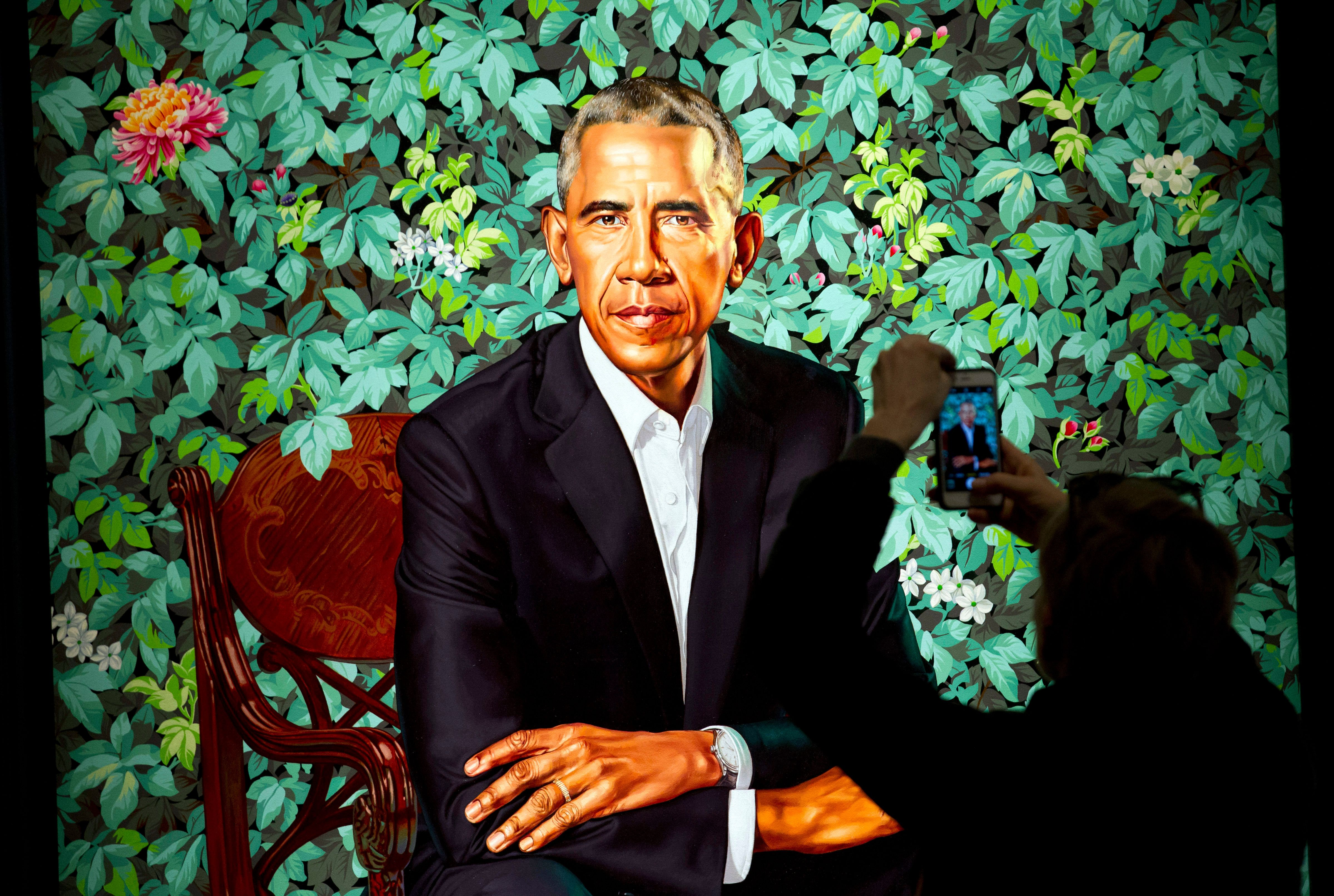 Obama Paintings Brought 1 Million More Visitors To National Portrait