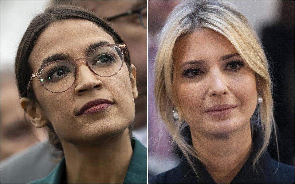Alexandria Ocasio-Cortez, Ivanka Trump